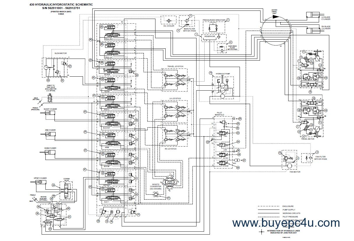 bobcat 430 wiring diagram