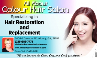 Hair Restoration and Replacement, All About Colour Hair Salon