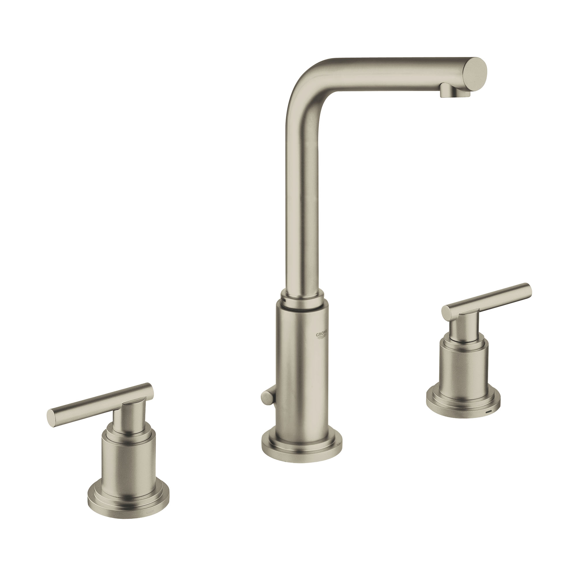 Brushed Nickel Bathroom Faucets Clearance Atrio Widespread 2 Handle Bathroom Faucet Clearance