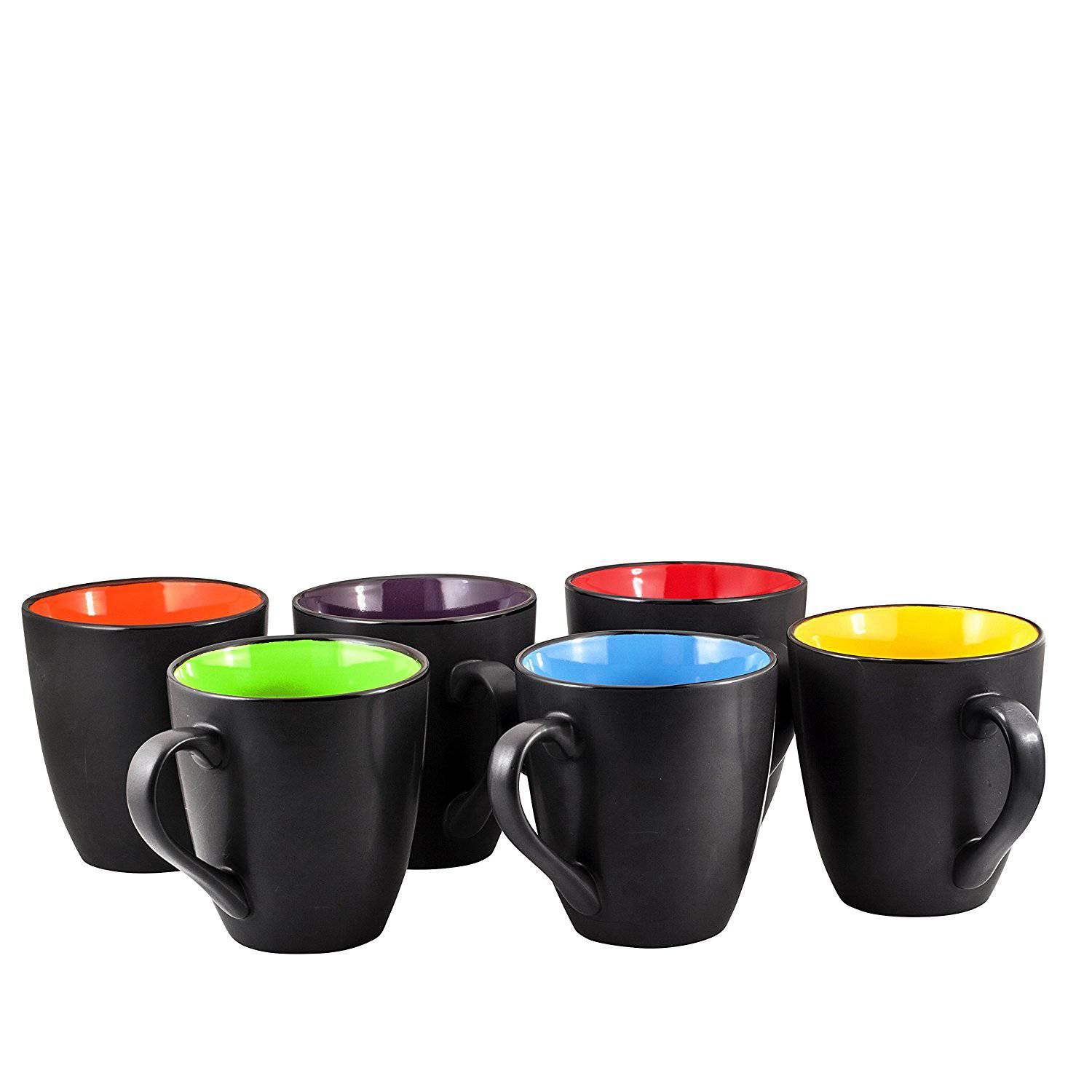 Large Coffee Mug Sets Coffee Mug Set Set Of 6 Large Sized 16 Ounce Best Price Review