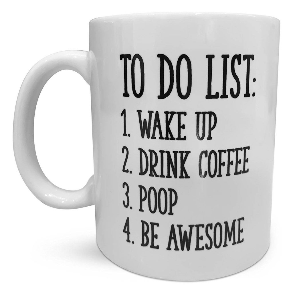 Men Coffee Cups Inspirational To Do List Coffee Mug Best Price Review