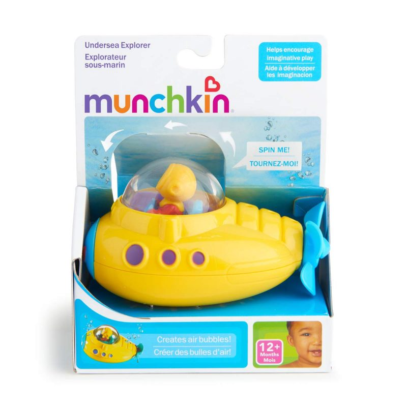 Infant Bath Time Products Munchkin Baby Infant Toddler Bath Time Toys Toy Undersea Submarine Explorer