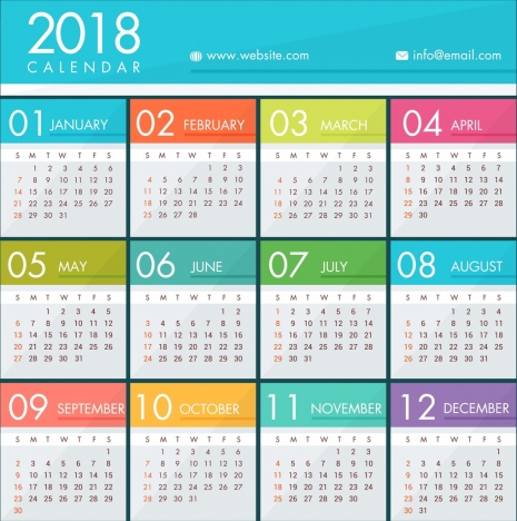 Website template vectors stock for free download about (183) vectors - calendar template for website