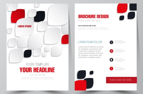 Free brochure flyer vector design vectors stock for free download - design a flyer free