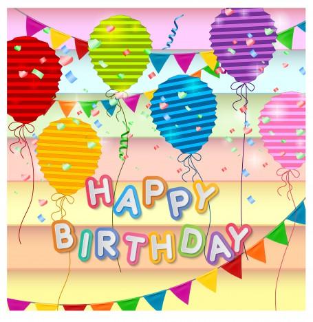 Happy birthday card design template vectors stock for free download - template for a birthday card