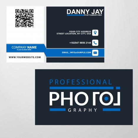 Free business card templates ai vectors stock for free download