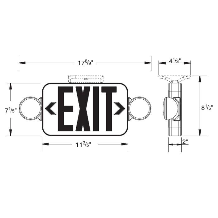 Exit Sign Wiring Diagram car block wiring diagram