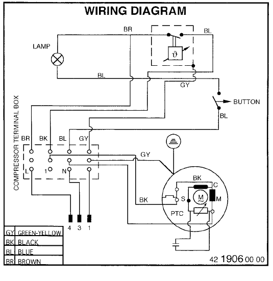 fedders thermostat wiring diagram