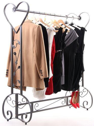 Boutique Display Garment Rack Decorative Clothing Rack