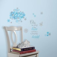RoomMates Frozen Let it Go Peel and Stick Wall Decals ...