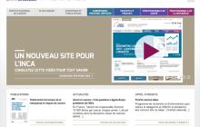 Nouveau site web pour l'Institut national du cancer