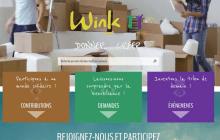 Winkity : réseau social et solidaire