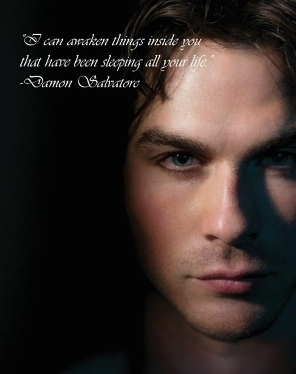 Deep Wallpaper Quotes 40 Exceptional Damon Salvatore Quotes