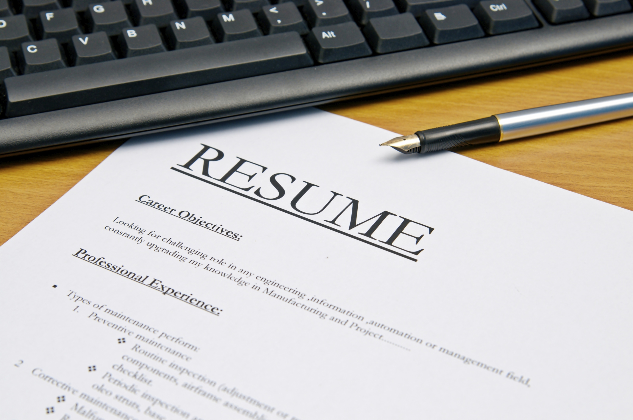 resume writing tips for customer service