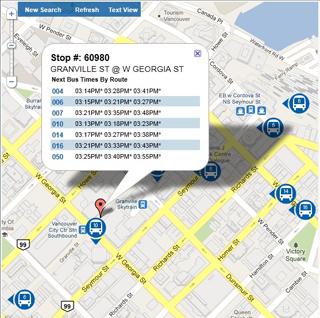 Real-Time Transit Information