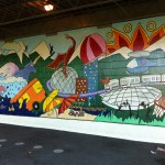 Mural in Mount Pleasant (Vancouver) by Kevin Jingyi Zhang