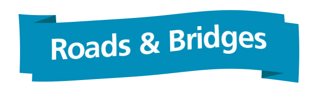 roads and bridges banner