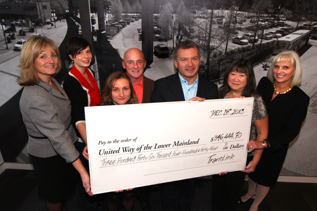 The TransLink family joins together for a great cause.