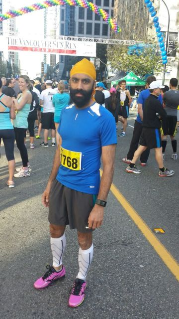 Harminder Sidhu - who competed in the Sun Run with our CMBC team