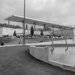 New Westminster BCE bus depot, 1953