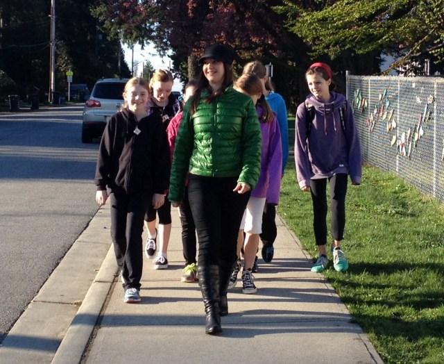International Walk to School Week 21015 runs Oct 5-9!