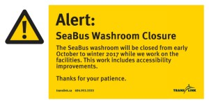 SeaBus Advanced notice north side washroom closure-page-001