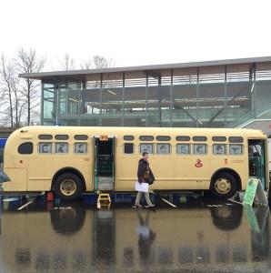 TRAMS vintage bus
