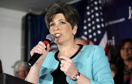 Joni Ernst admits that she faced sexual harassment while in the military