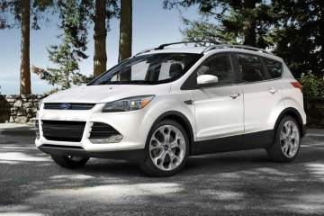 2015 Ford Escape White