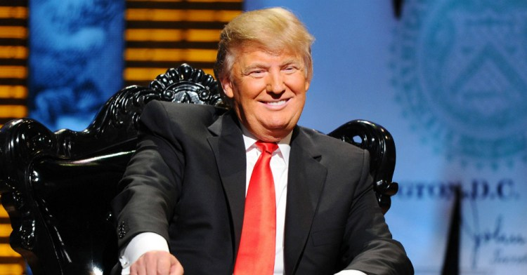 Donald Trump in His Chair