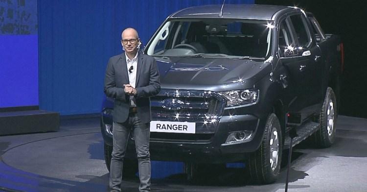New Ford Ranger Bangkok