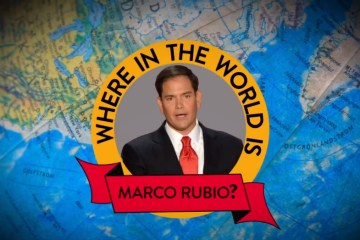 Where in the World is Marco Rubio