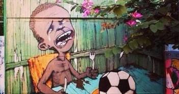ブラジルワールドカップに反対するストリートアート (22)
