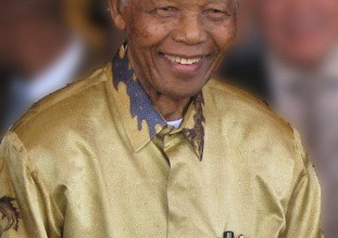 Nelson_Mandela - former president of South Africa