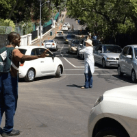 Helen Zille Directs Traffic