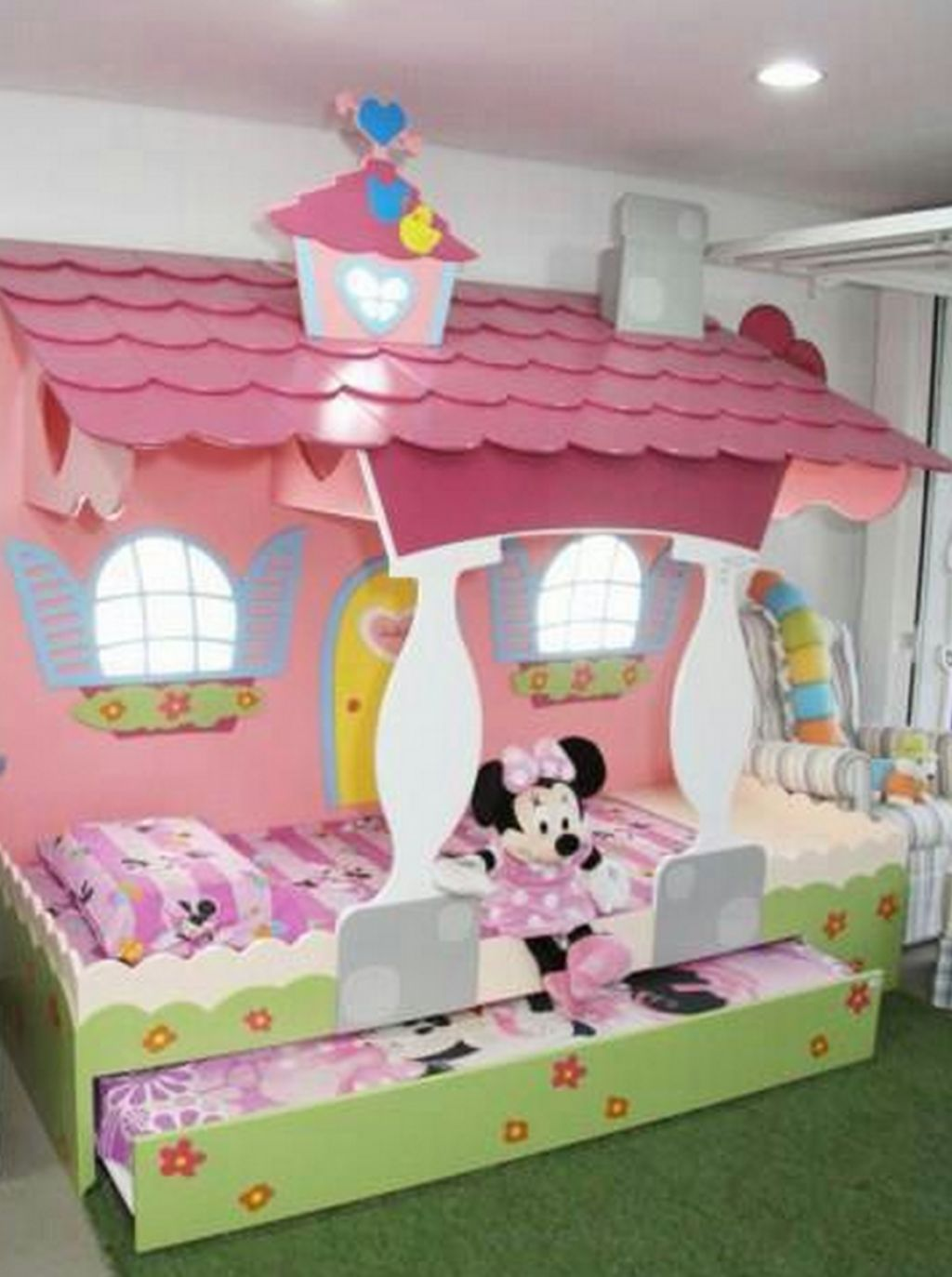 Chambre Fille Minnie But Lit Carrosse Best Pack Complet Premium Lit Carrosse