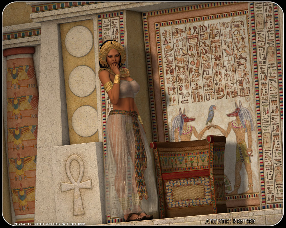 Engine Live 3d Wallpaper Egyptian Fantasy 3d Models Rpublishing