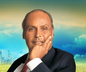 Image result for image of dhirubhai ambani