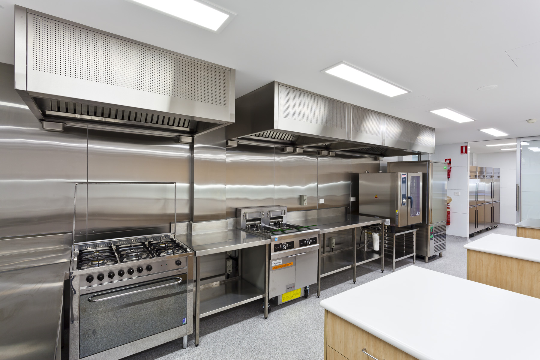 Commercial Kitchen 3d Design Kitchen Exhaust System Biao Xin Food Service Equipment