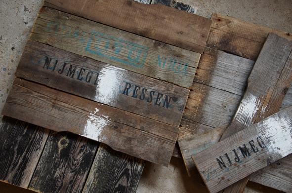 Rustikke planker