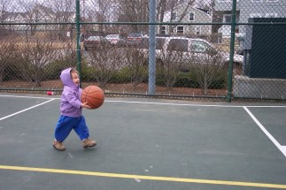 Matilda plays basketball 2004