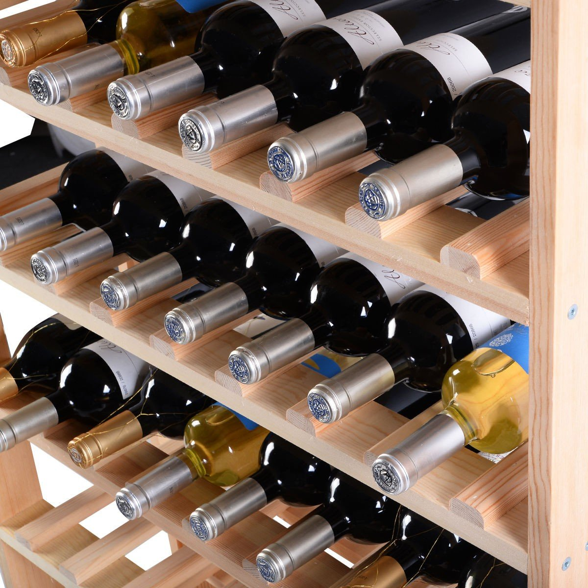 Wooden Bottle Rack Wooden Wine Holder Bottle Rack For 120 Bottles