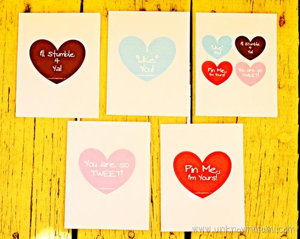 Free Valentine\u0027s Day Cards (Printable) - By Claudya