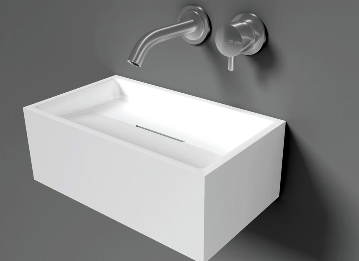 Wc Wastafel Cocoon Sant Jordi I Solid Surface Toilet Basin Bycocoon