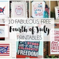 10 Free 4th of July Printables