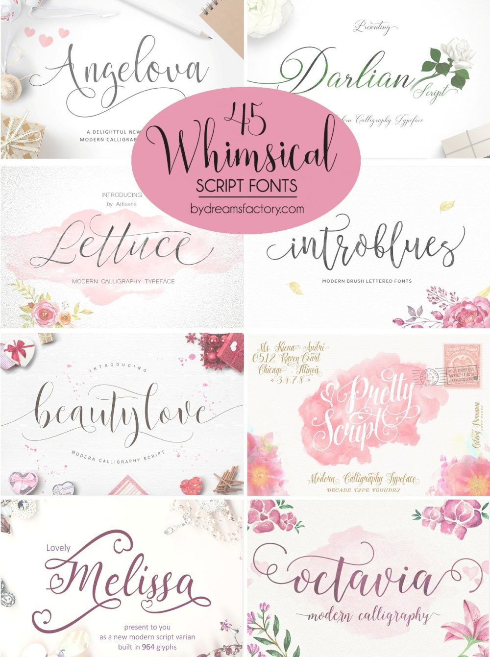 Calligraphy Font Generator Html 45 Whimsical Script Fonts Dreams Factory