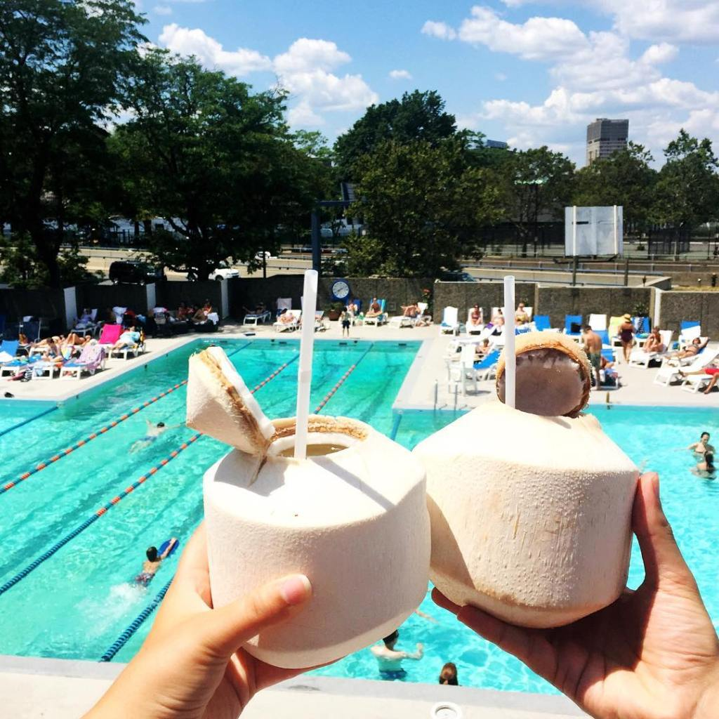 this heat is coconuts!