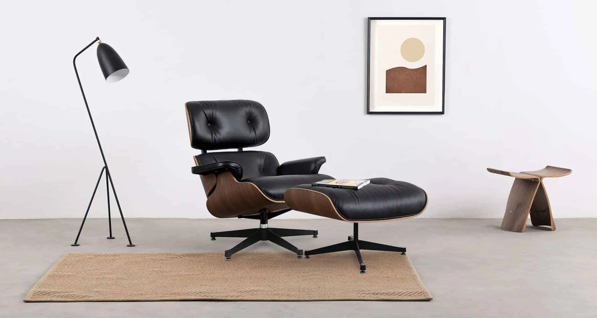 Chair Eames The Lounge Chair - Bykallevig