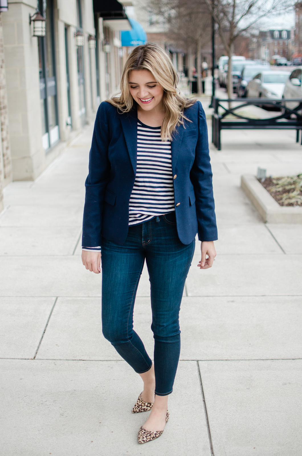 Outfit Business Casual Striped Top Outfit Business Casual By Lauren M