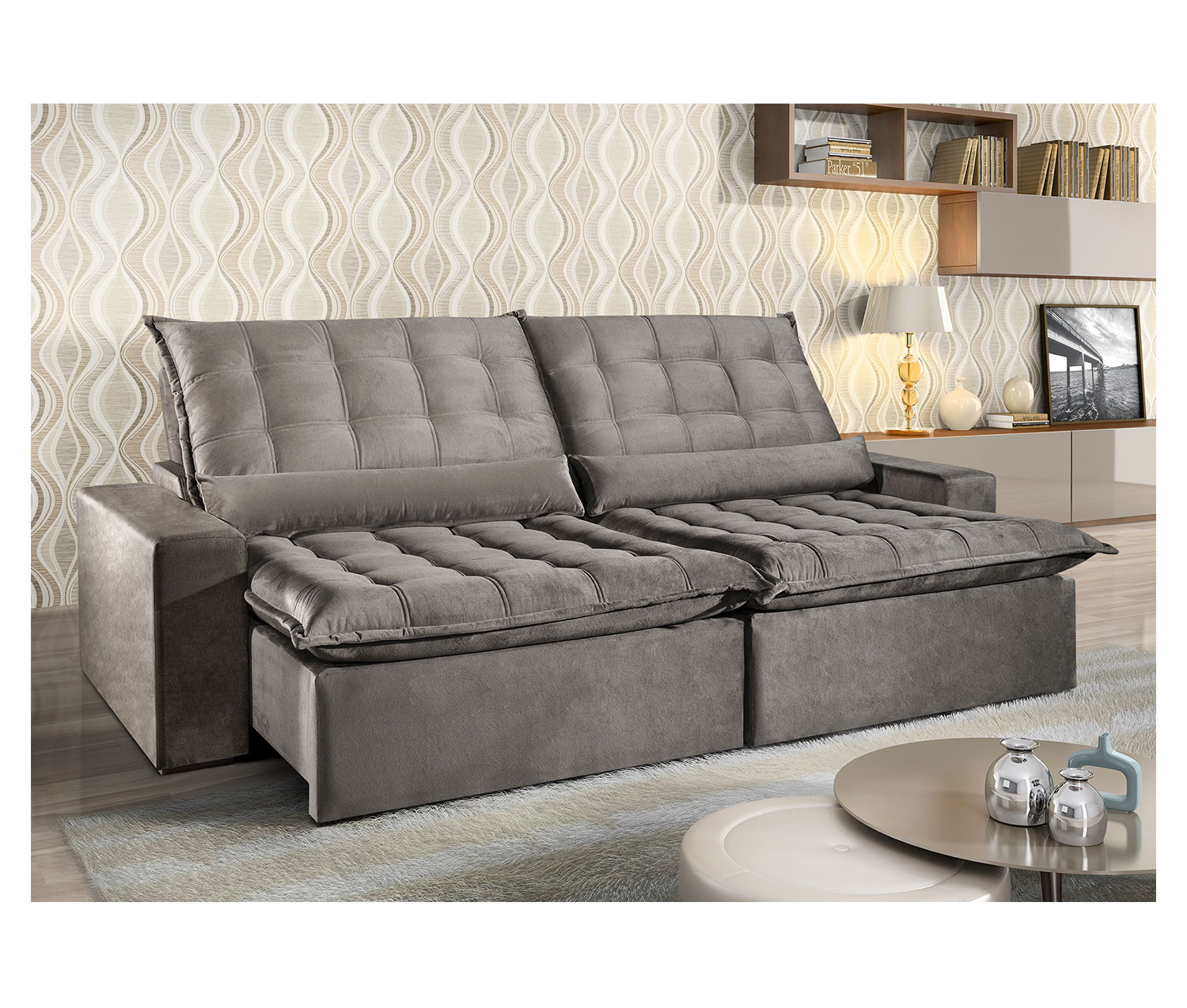 Sofa Retratil Uba Mg Sofa Retratil Reclinavel Istambul 2 10 Mts Até 2 90 Mts Uniart Estofados